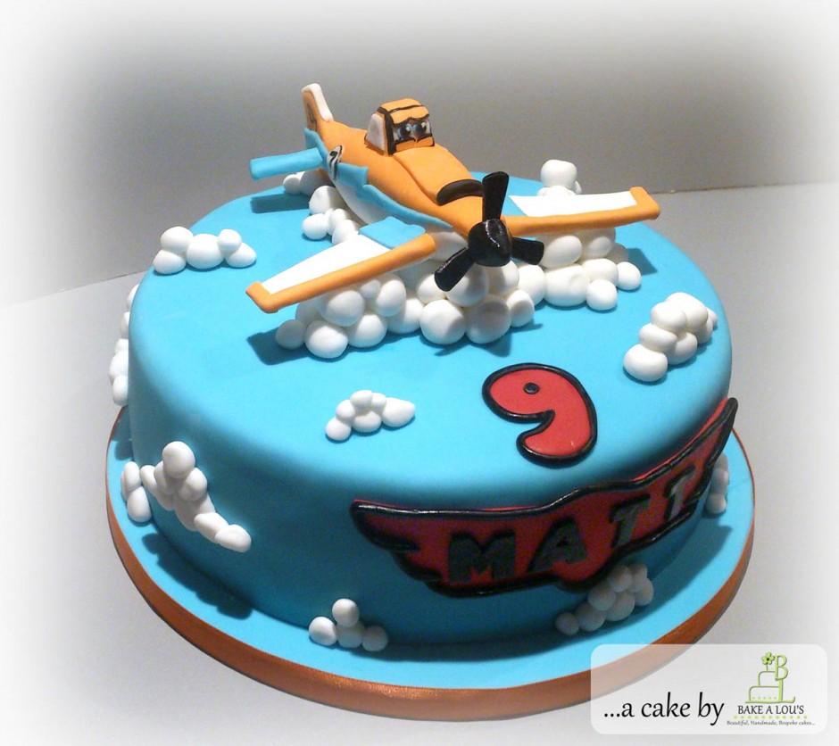 Disney Plane Cake Images : Pin Disney Planes 8 Small Dessert Cake Plates Air Plane ...