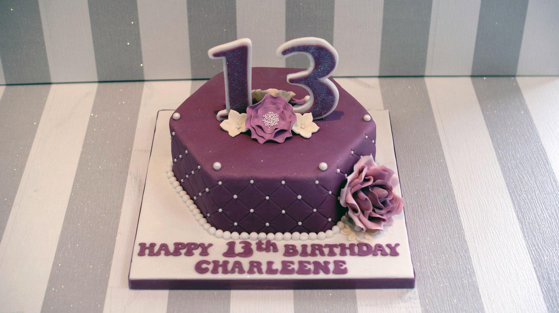 Similiar 13 Bday Cake Keywords